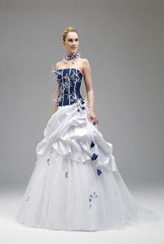 c2fb180b885 120 meilleures images du tableau Robe mariée avec couleur en 2019 ...