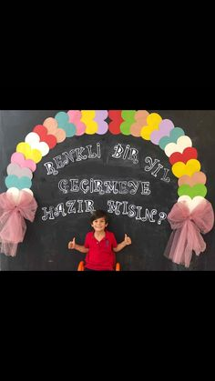 Preschool Classroom Decor, Numbers Preschool, Kindergarten Art, Art Classroom, Diy And Crafts, Crafts For Kids, Christmas Balloons, Arch Decoration, Simple Baby Shower