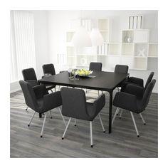 BEKANT Konferencebord - sortbrun/sort - IKEA