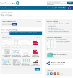 www.eea.europa.eu/data-and-maps European Environment Agency: data and maps