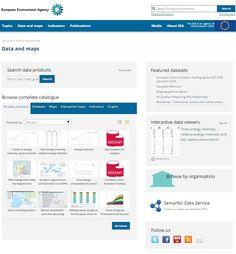 www.eea.europa.eu/data-and-maps European Environment Agency: data and maps