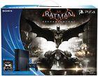 Perfect Used Sony Playstation 4 Batman Arkham Knight Black PS4 500GB