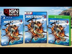 Just Cause 3 Box Art Revealed, Gameplay Trailer Teased - IGN News - YouTube