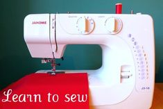 really good tutorials-I got a sewing machine for my birthday and for going on nine years it has sat unused. It's time! Learning to sew is going to be my summer project. Sewing Hacks, Sewing Tutorials, Sewing Crafts, Sewing Projects, Sewing Patterns, Fabric Crafts, Sewing Tips, Basic Sewing, Sewing Lessons