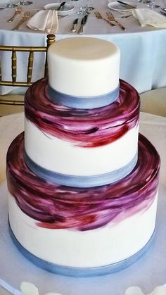 Cake as canvas