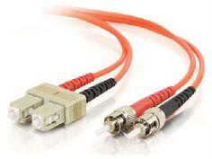 C2g C2g 10m Sc-st 62.5-125 Om1 Duplex Multimode Pvc Fiber Optic Cable - Orange