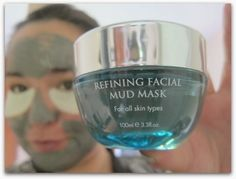 Will this mineral-rich dead sea mud mask work wonders for your skin? Dead Sea Mud, Shot Glass, Wine Glass, Minerals, Facial, Aqua, Cosmetics, Tableware, Pictures