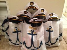 Personalized Bacherlorette Cruise Items on a Budget Omg! And future mom in love and momma cruise! Bachelorette Cruise, Nautical Bachelorette Party, Nautical Party, Bachlorette Party Themes, Bachelorette Gift Bags, Bachelorette Itinerary, Nautical Wedding Theme, Nautical Gifts, Do It Yourself Wedding