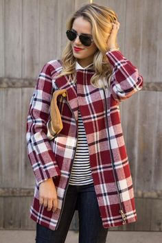We're mad for plaid!