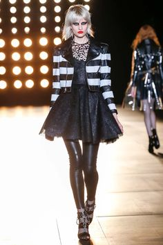 Jacket /// Saint Laurent Fall 2015 Ready-to-Wear - Collection - Gallery - Style.com