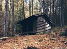 Brown Mountain Creek Shelter, Amherst, VA: This lean-to is located along the historic Brown Mountain Creek near the remains of a small nineteenth century village occupied by freed African Americans
