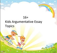 Simple and Easy Argumentative Essay Topics for Kids. best argumentative essay short argumentative essay argumentative essay topics for middle school pdf argumentative essay examples easy argumentative essay topics Writing an argumentative essay will need more research and it can be the best method to train critical thinking. Kids Writing, Essay Writing, Problem Solution Essay, Argumentative Essay Topics, Kids Homework, Play Game Online, Essay Examples, Group Work, Student Reading