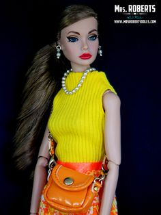 Spicy in Spain Poppy Parker VS Made For Each Other Barbie | Flickr - Photo Sharing!