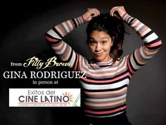 "Hey everyone! If you missed break out star Gina Rodriguez in Filly Brown at the San Diego Latino Film Festival we have good news… She will be back in San Diego presenting her new movie ""Sleeping with the Fishes"" (Sun., Aug. 25) at Éxitos del Cine Latino. Check out http://www.sdlatinofilm.com/exitos13/ for more information! — at Digiplex Mission Valley 7. Buy tickets here to see the movie and meet Gina in person! http://tinyurl.com/k6omu2x"