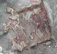 It's a warriors' tomb, but we now know it says more about culture than conquest. It contains ancient Scythian skeletons discovered in the Altai mountains of Mongolia in 2005, and their DNA is part of the first hard evidence of genetic blending between Europe and Asia.