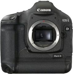 Canon's flagship EOS-1D Mark III is the most advanced EOS Digital SLR ever produced. It has a new 10.1 megapixel CMOS sensor (APS-H size) with Canon's EOS Integrated Cleaning System and a 3.0-inch LCD...