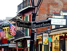 Witness a mix  of French, Spanish, Italian, Caribbean, African and Southern styles. See musicians, magicians, psychics and tap dancers alongside hawking alligator T-shirts and voodoo paraphernalia.....and the notorious Bourbon Street. http://www.discoveramerica.com/usa/experiences/l/louisiana/the-french-quarter.aspx