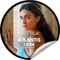 Atlantis: Ariadne Jack Donnelly, Bbc America, Make New Friends, Atlantis, Movie Tv, Fiction, Entertaining, Originals, Stickers