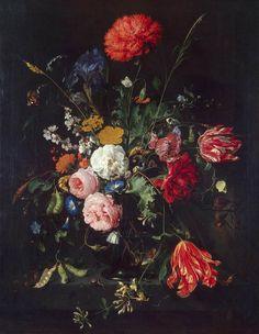 Jan Davidsz. de Heem - Vase of Flowers