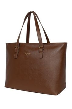 """Mercer Toffee 22"""" Computer Tote"""