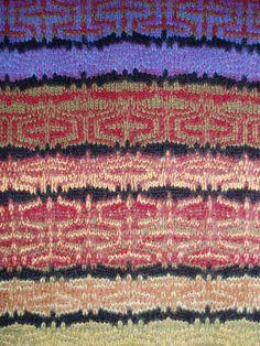 scarf detail by karen allen