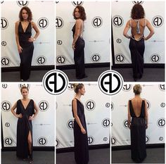 """Anyone have any black tie affairs to go to? A wedding? We have the perfect dresses for you.  These dresses have the greatest, softest, smoothest fabrics making it super comfortable to wear a long dress in the sticky summer ☀️ Get the looks!  SEARCH: """"Silver Rope Open Back Maxi"""" """"Gold Plate Maxi""""  SHOP: www.aliciadimichele.com USE: promo-code """"FREESHIP"""" to get your items shipped for free!  Shop:www.aliciadimichele.com"""