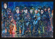 Gemälde von Daniel Richter, 2007, Öl auf Leinwand