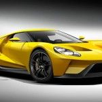 2015 Chicago Auto Show: 2017 Ford GT Launched in Silver Livery