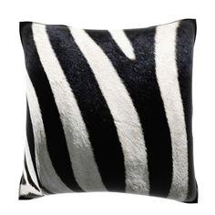 Stripes on Zebra 18-inch Velour Throw Pillow - Overstock™ Shopping - Great Deals on Throw Pillows