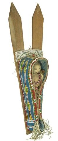 Kiowa Toy Cradleboard - Atah (1855-1947)
