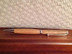 Handmade Woodturned Pen by RomanticRiver on Etsy