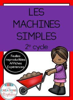 Les créations de Stéphanie : Les machines simples