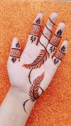 Hena Designs, Basic Mehndi Designs, Mehndi Designs For Girls, Mehndi Designs For Beginners, Henna Designs Easy, Latest Mehndi Designs, Mehandi Designs, Simple Henna Tattoo, Mehndi Simple