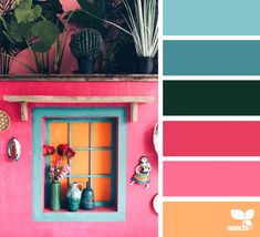 Design Seeds- today's inspiration image for { color view } is by . thank you, Federica, for another incredible image share! Design Seeds, Colour Pallette, Colour Schemes, Color Combos, Vintage Color Schemes, Pantone, Color Stories, Color Swatches, Color Theory