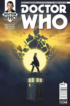 Doctor Who: The Ninth Doctor - Comics by comiXology Doctor Who 9, Doctor Who Books, Doctor Who Comics, Ninth Doctor, Black Cat Comics, A Study In Pink, The Nines, Captain Jack, Comic Covers