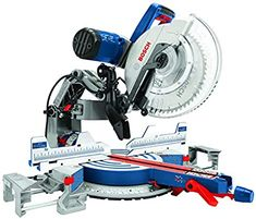 Bosch Power Tools GCM12SD - 15 Amp 12 Inch Corded Dual-Bevel Sliding Glide Miter Saw with 60 Tooth Saw Blade - Miter Saw Blades - Amazon.com