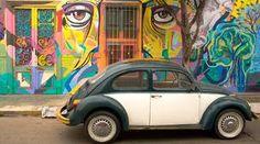 Barranco, Lima, Peru, street art