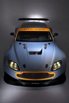 Aston Martin in racing livery.