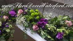 Winter Wedding @ Faithlegg Church, Co Waterford. Church Wedding, Arch, Photo And Video, Winter, Floral, Plants, Winter Time, Flowers, Flora