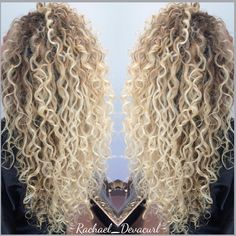 Due to the high quality of the hair, the wig can last up to 12 months if looked after correctly. These can be pushed into your own hair for extra security. Afro Blonde, Blonder Afro, Long Blonde Curls, Blonde Hair Looks, Blonde Curly Hair Natural, Permed Hairstyles, Headband Hairstyles, Medium Hairstyles, Permed Hair Medium Length