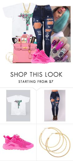 """""""UZI"""" by lazy-queen97 ❤ liked on Polyvore featuring beauty, UZI and NIKE"""