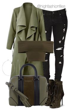 """Another One"" by highfashionfiles ❤ liked on Polyvore featuring Levi's, Givenchy, Phyllis + Rosie and Giuseppe Zanotti"