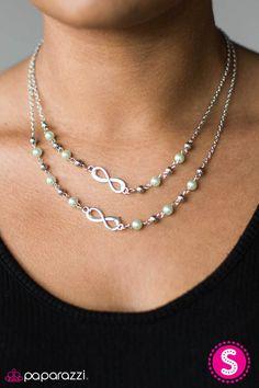 Chance Of A Lifetime Necklace Perola, Colares, Pulseiras, Colar Curto, Colar  Verde 7517b7776c