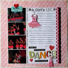 Dance layout