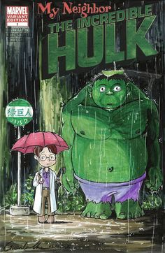 #Hulk #Animated #Fan #Art. (My Neighbor The Incredible Hulk) By: GuanlinChen. (THE * 5 * STÅR * ÅWARD * OF: * AW YEAH, IT'S MAJOR ÅWESOMENESS!!!™)[THANK Ü 4 PINNING!!!<·><]<©>ÅÅÅ+(OB4E)     https://s-media-cache-ak0.pinimg.com/564x/4d/89/d4/4d89d4a64c08f433f1af1755f6e81516.jpg