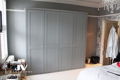 fitted wardrobe shaker style