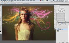 Fairy tale digital art tutorial