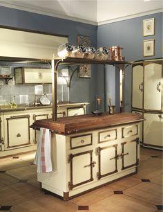 cucina maison du monde rustica con supporto a sospensione ...