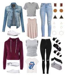 """""""form"""" by lilabeth on Polyvore featuring LE3NO, adidas, Miss Selfridge, NIKE, Gap, T By Alexander Wang, MANGO, Topshop, Converse and Vans"""