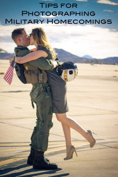 Tips for photographing Military Homecomings